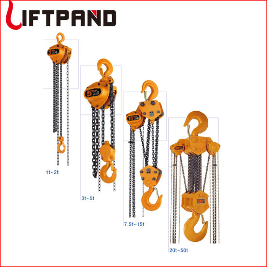 10FT Lift Manual Hook Mounted Chain Hoists and Block with Overload Protection