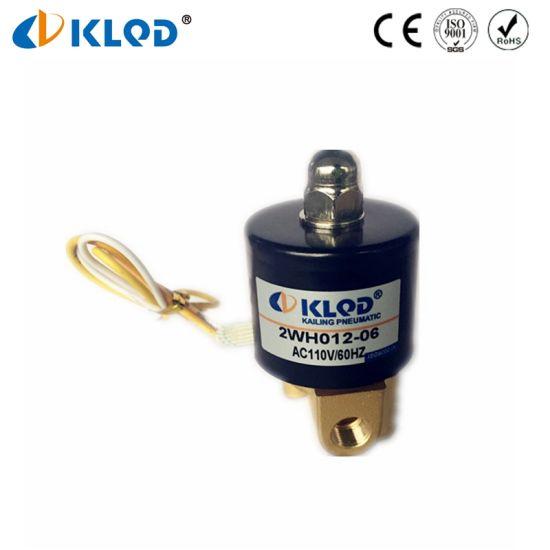 China Low Price Hot Sale High Pressure Mini Water Solenoid