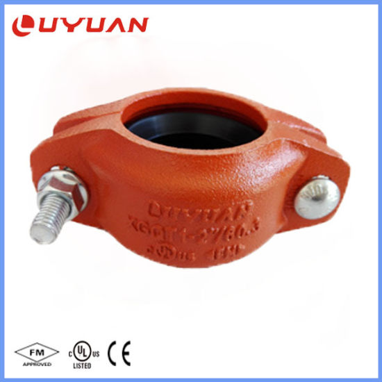 China UL Listed, FM Approval Ductile Iron Grooved Flexible