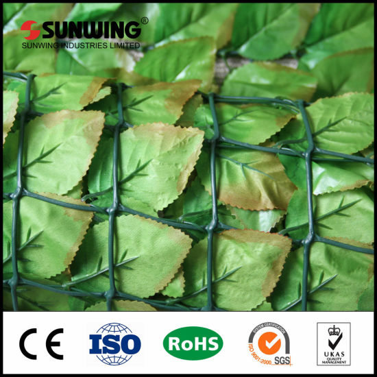 Outdoor Garden Decoration Plastic Artificial PVC Privacy Fencing pictures & photos