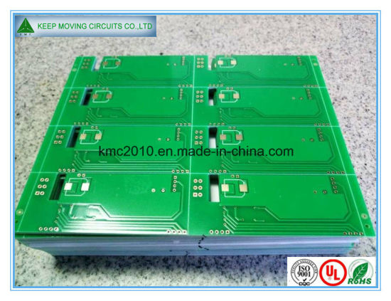 1.6mm 35um Hal Lead-Free Double Sided PCB pictures & photos