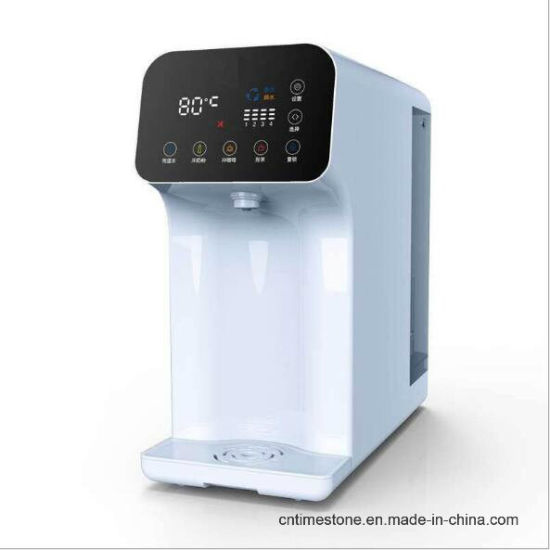 Hot Sale 5 Liters Desktop Hydrogen-Rich Water Ionizer Purifier Machine PP+ Activated Carbon Composite Filter + RO Membrane Reverse Osmosis Filter