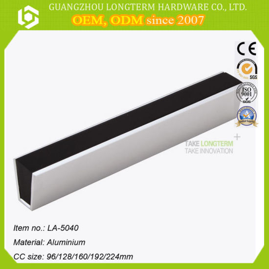 Discount Aluminum Black Kitchen Cabinet Handles Wholesale Manufacturers in China