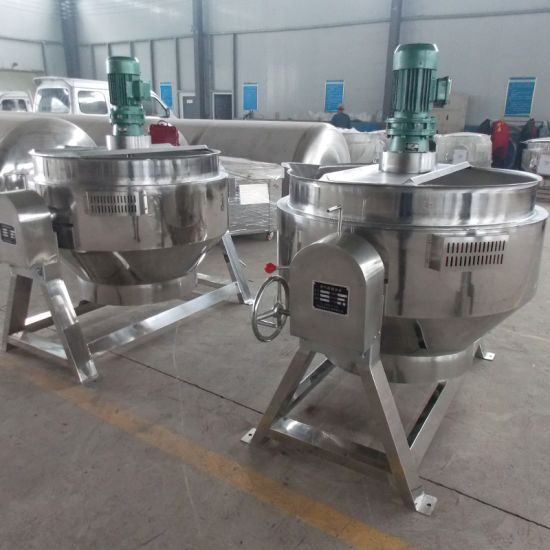 Commerical Cooking Porridge Tilting Stainless Steel Electric Jacketed Kettle