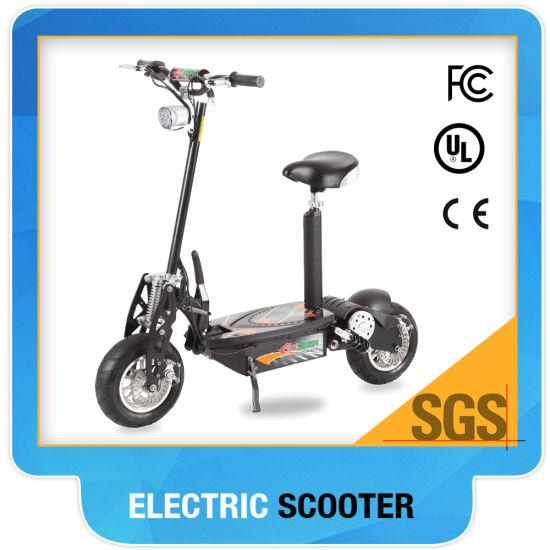 Trottinete Electrique 1000W Adult Green Power Electric Scooter Lithium pictures & photos