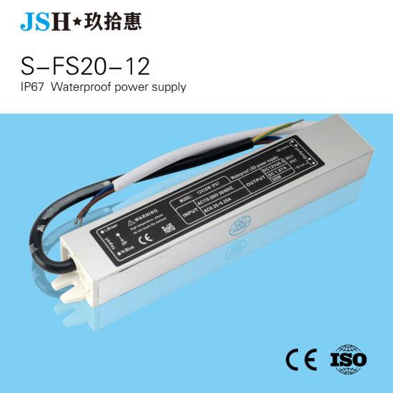 Waterproof LED Power Supply 24V 20W LED Driver