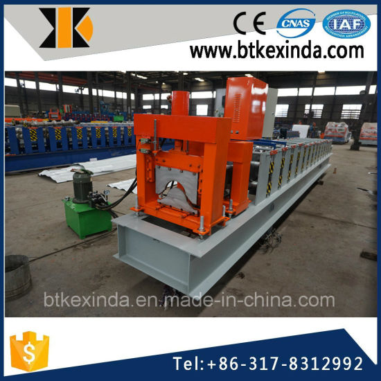 Kxd 312 Aluminum Ridge Cap Roofing Tile Making Machine pictures & photos