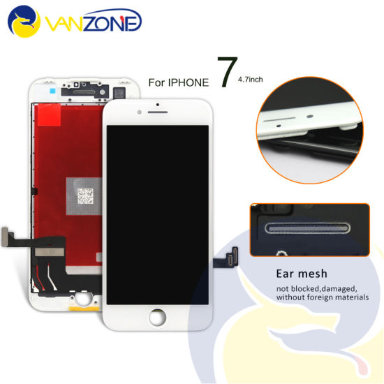 Best LCD Display for iPhone 7 7g Touch Screens Replacement Parts All Assembly White and Black Free Ship
