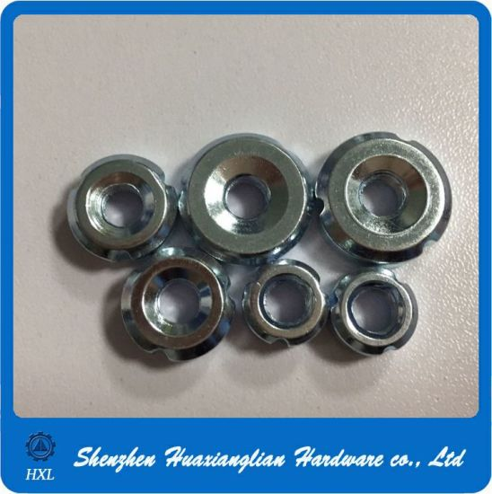 M6 M8 Zinc Plated Steel Round Insert Nut for Tube pictures & photos