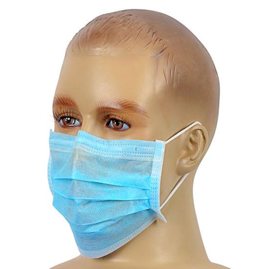 Disposable 2-Ply Non-Woven Face Mask Ear-Loop