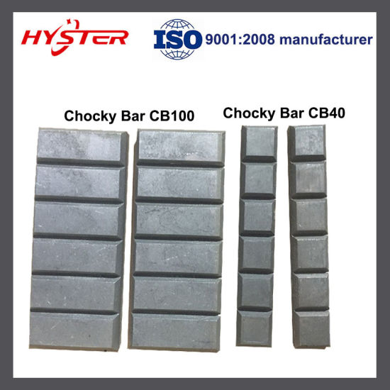 Direct Manufacturer 63HRC Domite Laminated Wear Blocks for Bucket Repair pictures & photos