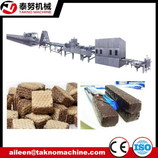Complete Automatic Wafer Biscuit Making Process Machinery pictures & photos