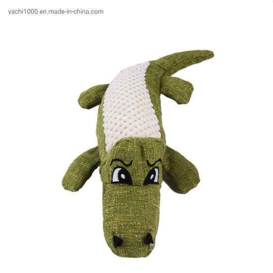Hot Sale Crocodile Plush Stuffed Animals Supply Dog Pet Toy