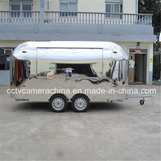 Professional Design Stainless Steel Mobile Fast Food Carts (SHJ-MBT400)
