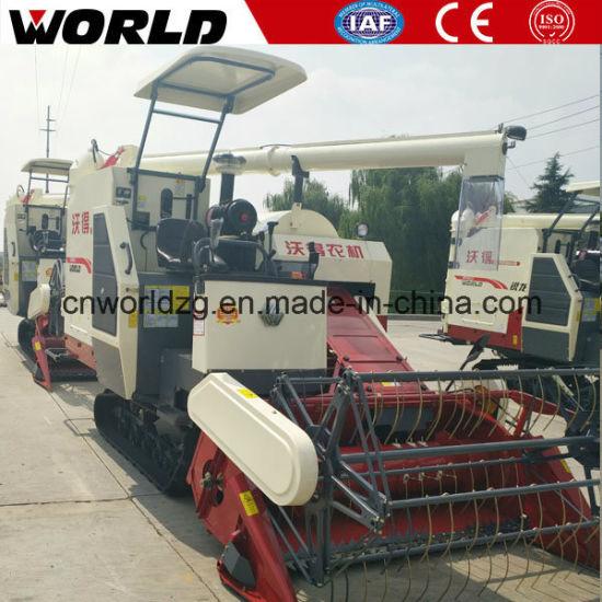 China 4lz-4 0e Kubota Small Harvester Machine Price for Sale
