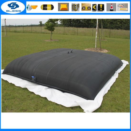 Reusable PVC Coated Tarpaulin Water Storage Bladder Tanks 200000 Liters