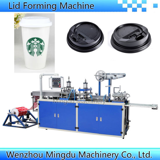 Paper Cup Lid Forming Machine (Model-500)