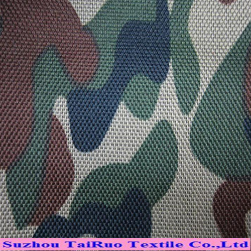 Good Quality Coated Camouflage Printing Oxford Fabric with Waterproof