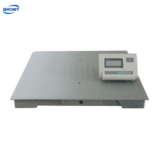 Digital Electronic Weight Platform Weighing Floor Scale 1t to 3t