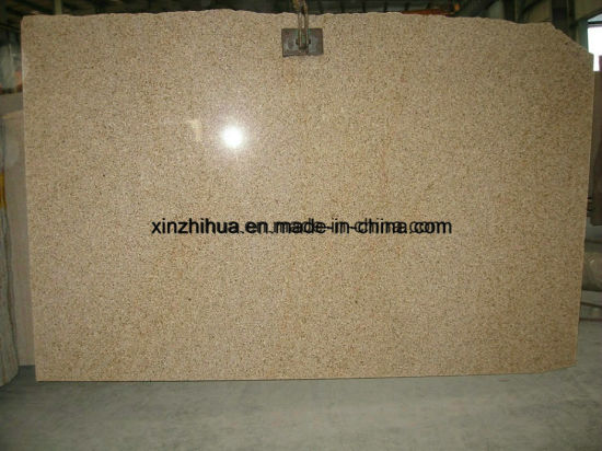 Rusty Yellow/Misty Yellow/Chiva Beige Granite Polished/Flamed/Honed Slab for Tile/Countertop/Vanity Top/Worktop pictures & photos