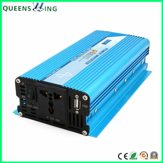 500W Pure Sine Wave off Grid Solar Power Inverter (QW-P500) pictures & photos