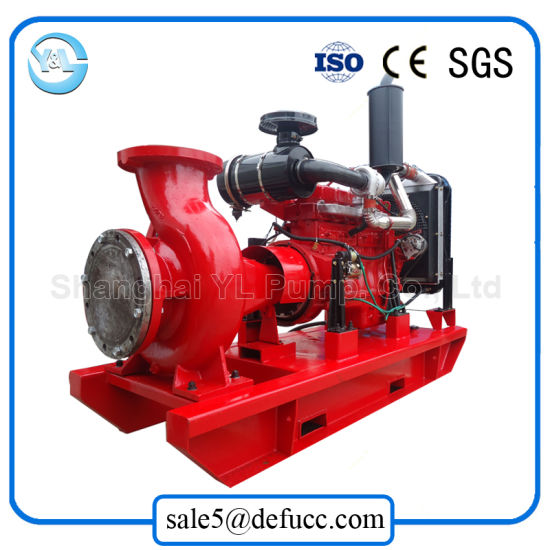 Good Quality Low Vibration End Suction Diesel Water Pump pictures & photos