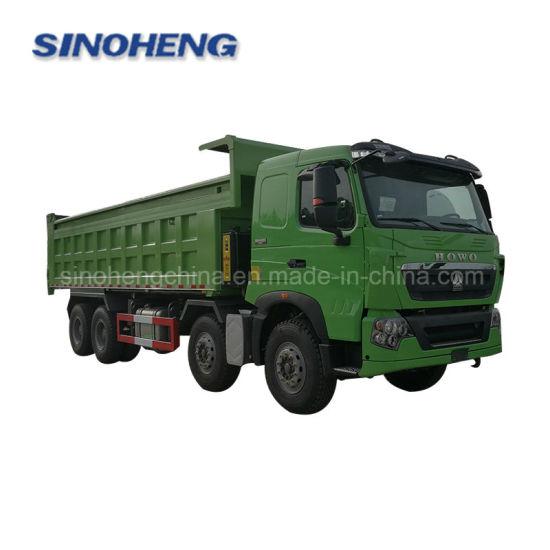 8X4 336HP Sinotruk HOWO Dump Truck 20 Cubic Meters