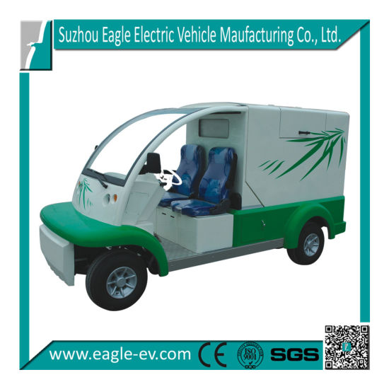Electric Garbage Collecting Car, Eg6020X, 2 Seats, CE Approved pictures & photos
