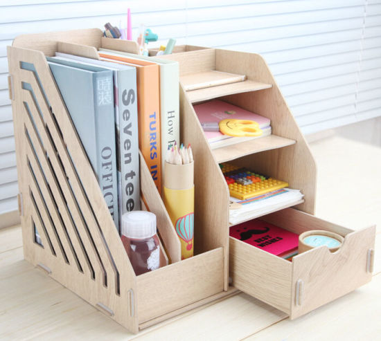 Office Table Ornament Wooden Storage Box pictures & photos