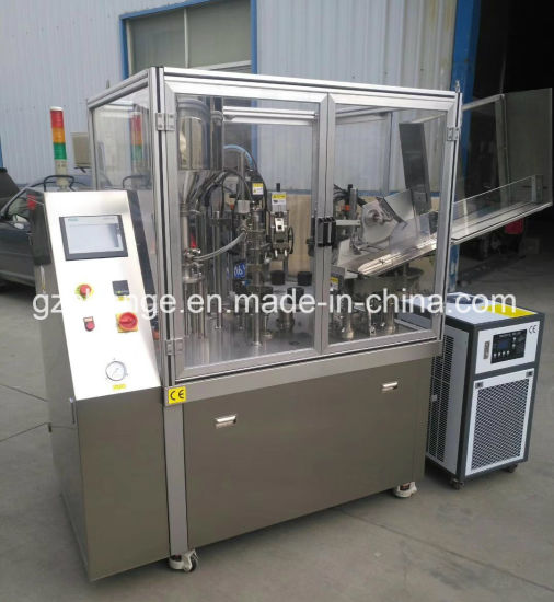 Automatic Cosmetic Medicine Foods Paste Cream Tubes Filling Sealing Machine