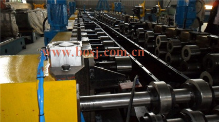Indoor Stainless Steel Channel Cable Tray Roll Forming Production Machine Indonesia pictures & photos