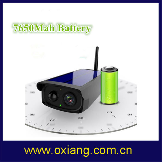 IP66 Outdoor Solar Surveillance Camera 1080P 2 Way Communication WiFi Battery Camera pictures & photos