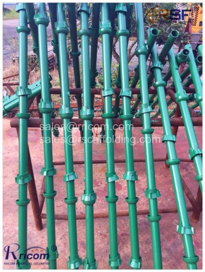 Paint and Galvanized Cuplock Scaffolding System