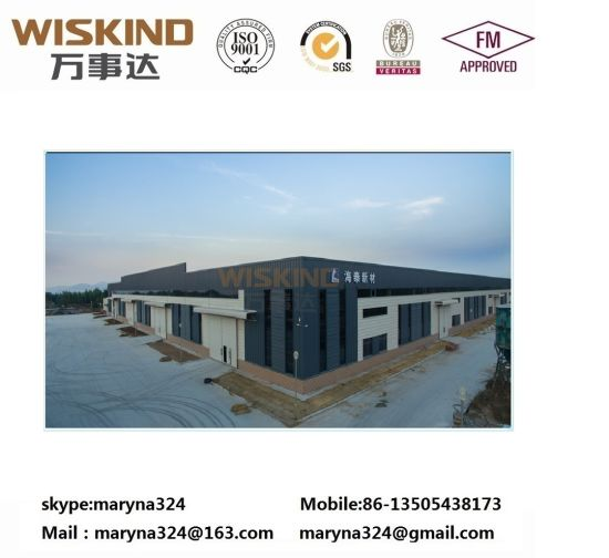 High Quality and Beautiful Design Steel Struture for Office Building pictures & photos