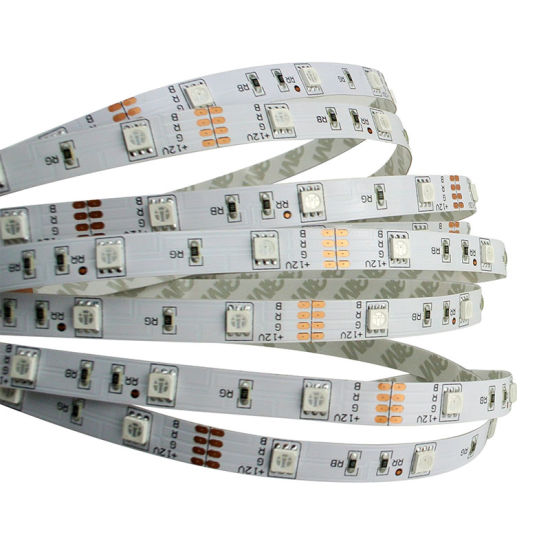 Factory Price 5050 RGB 5 M/Roll Strip LED Light with 30LED pictures & photos