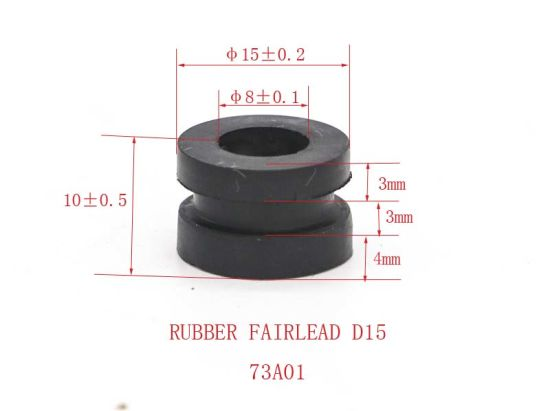 OEM NBR EPDM FKM Silicone Rubber Circle Stopper for Machinery Rubber Seal  Rubber Stopper
