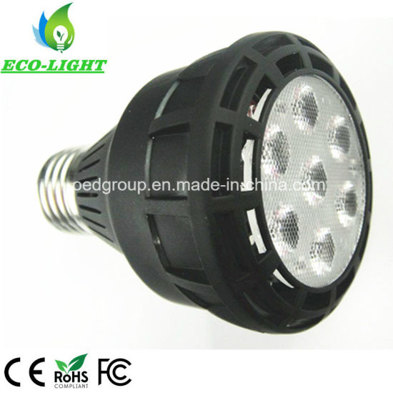 Osram LED Chip E26/E27/G12 25W PAR20 LED Light Black Case Aluminum Radiator pictures & photos