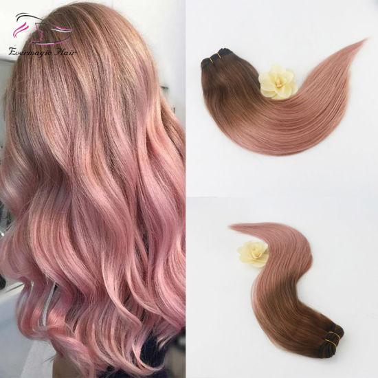 Hot Item Grade 10a Brazilian Human Hair Balayage Color 3rose Gold Aliexpress Hair Product