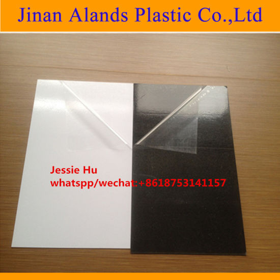 1mm 1.5mm 2mm Self Adhesive PVC Inner Sheet for Photo Album pictures & photos