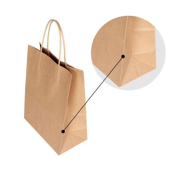 Kraft Paper Bag with Handle Wedding Party Bag Fashionable Cloth Shoes Gift Paper Bags 4size Multifunction Wholesale pictures & photos