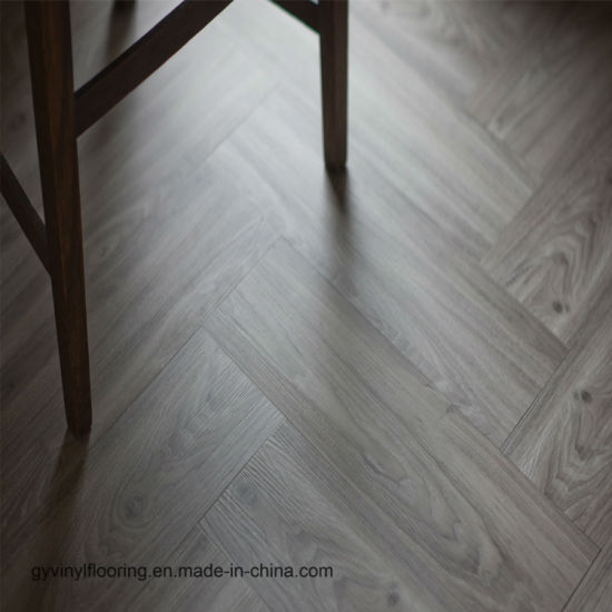 China Waterproof Click Indoor PVC Vinyl Floor Tile - China Plastic ...