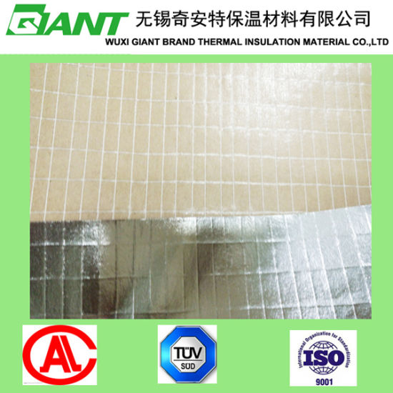 Heat Sealing Two Way Scrim Aluminum Foil Kraft for Rockwool pictures & photos