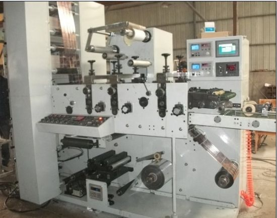 Flexography Printing Machine 5 Color Die Cutting and Slitting pictures & photos