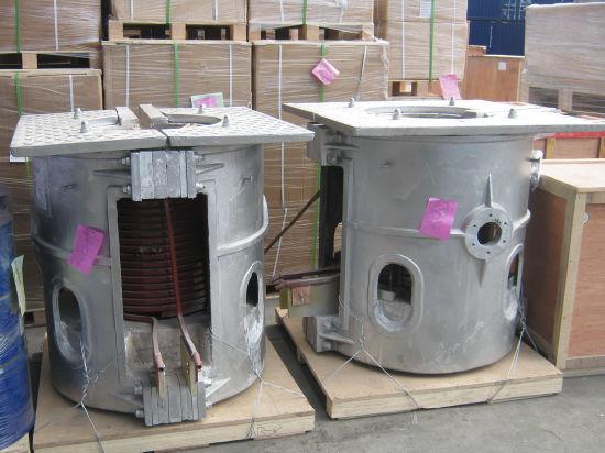 Customzied 500kg Aluminum Melting Type Electric Furnace
