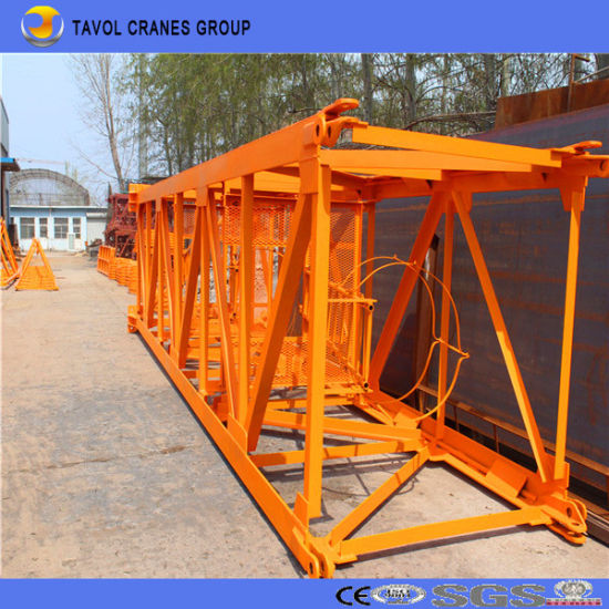 Model 6516 New Tower Crane pictures & photos