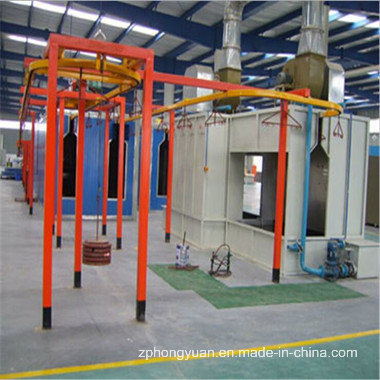 Semi-Auto Painting Production Line with Painting and Curing Area