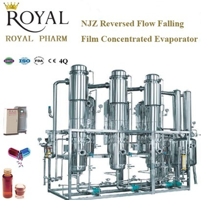 Reversed Flow Falling Film Concentrated Evaporator (MEE) pictures & photos