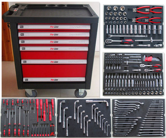 270PCS Heavy Duty Tool Cabinet Set with EVA Packing (FY238A)