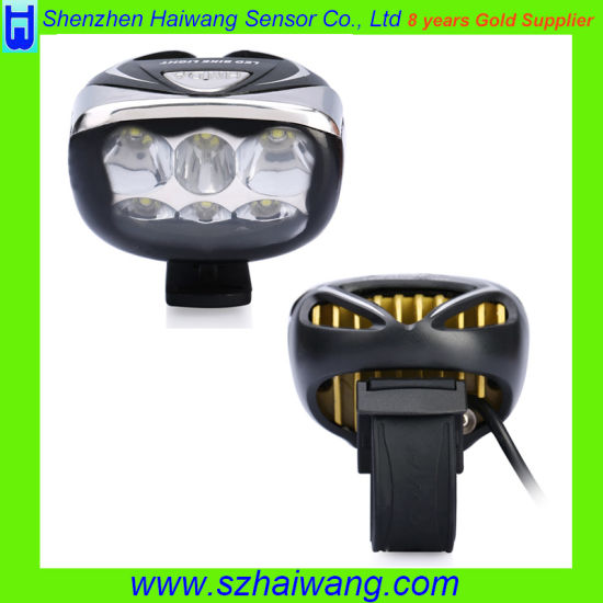 High Performance T6 Bicycle Light with 18650 Battery Pack (HW-630) pictures & photos