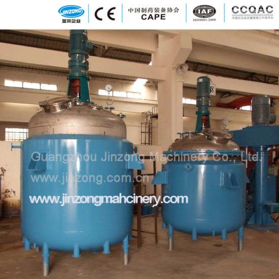 Jinzong Machinery 30-2000L Electrical Heating Chemical Reaction Reactor Heating Jacket Reactor